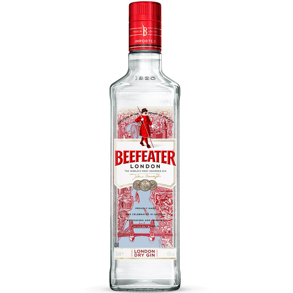 GIN BEEFEATER DRY INGLATERRA 70CL