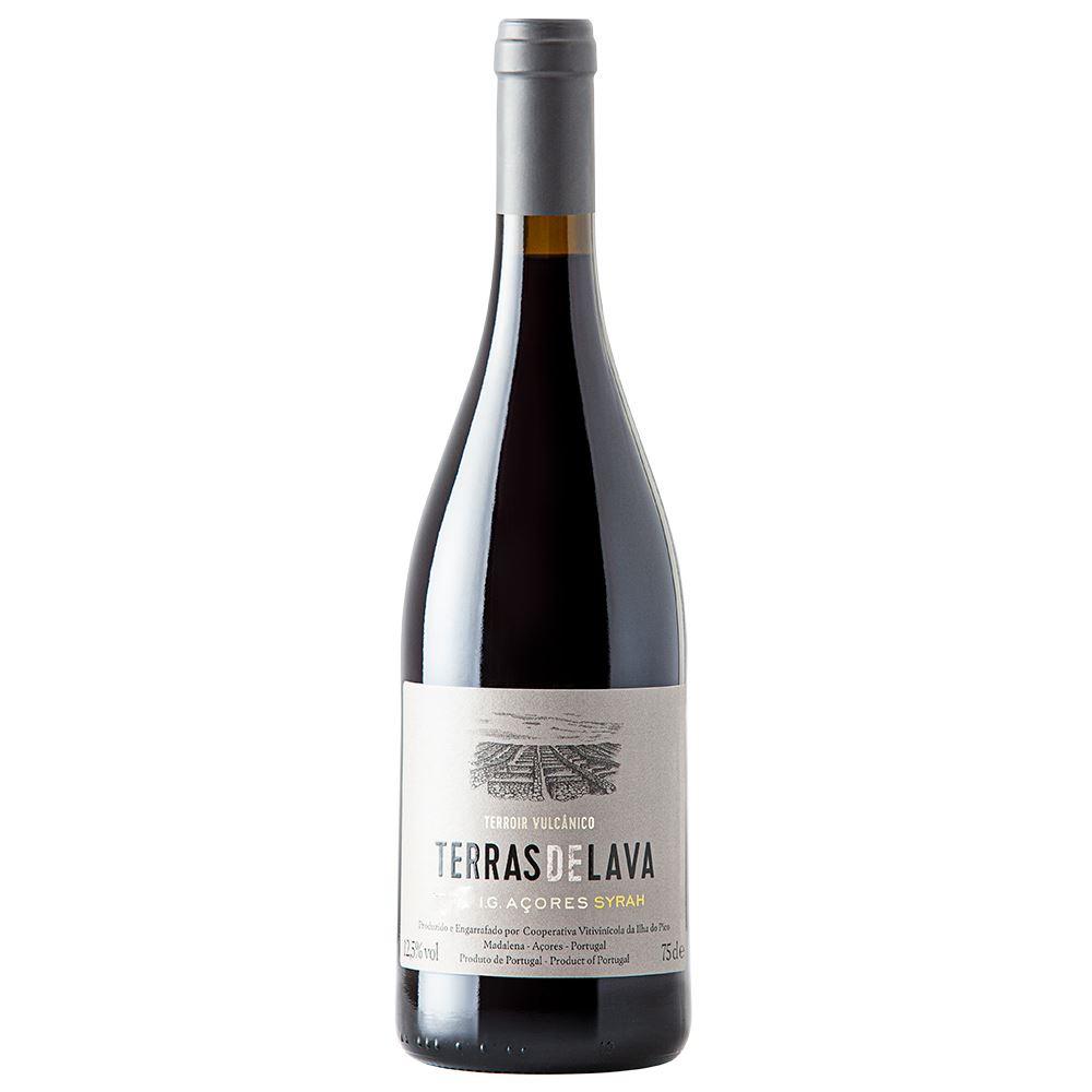 VINHO TINTO TERRAS DE LAVA SYRAH 2018 75CL 12,5%