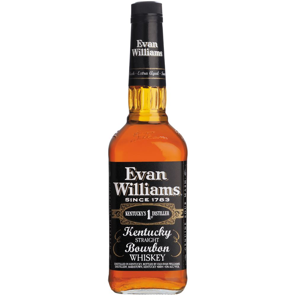 Whisky Bourbon Evan Williams Extra Aged EUA 1L