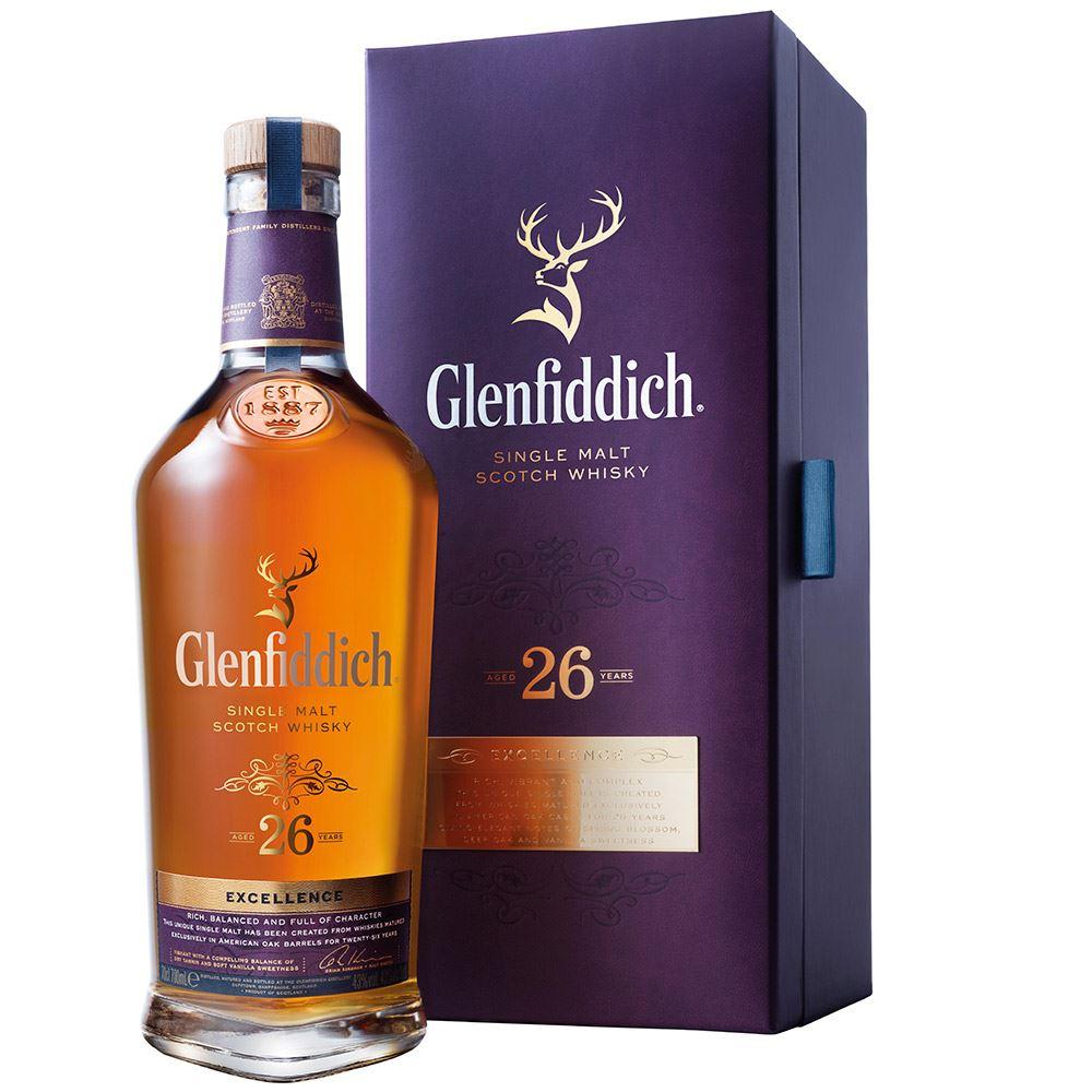 WHISKY GLENFIDDICH 26 ANOS 70CL 43%