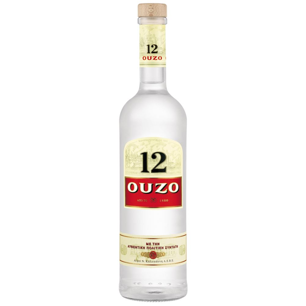 OUZO 12 ANOS 70 CL