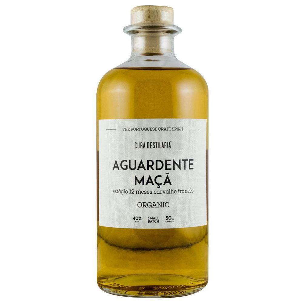 AGUARDENTE MAÇÃ CURA ORGANIC 12 MESES 50CL 42%