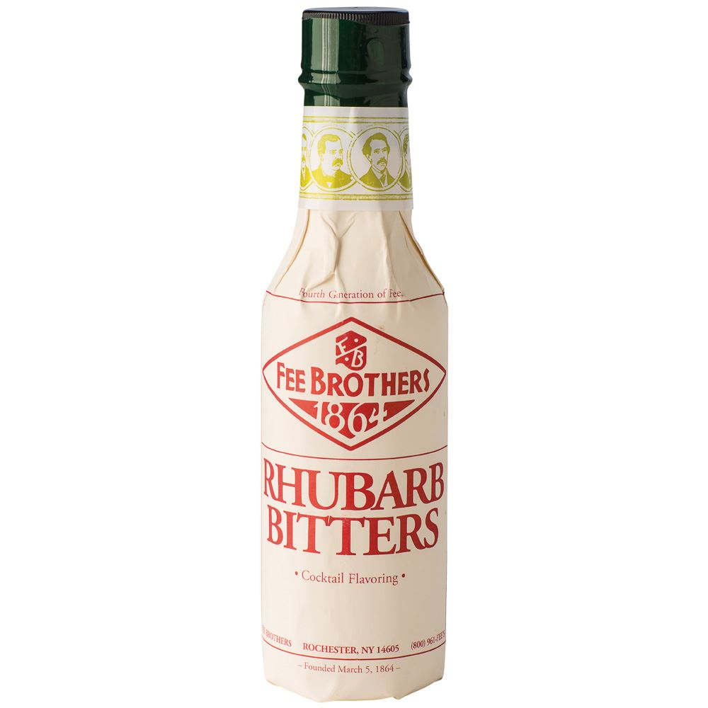 BITTERS FEE BROTHERS RUIBARBO 15CL