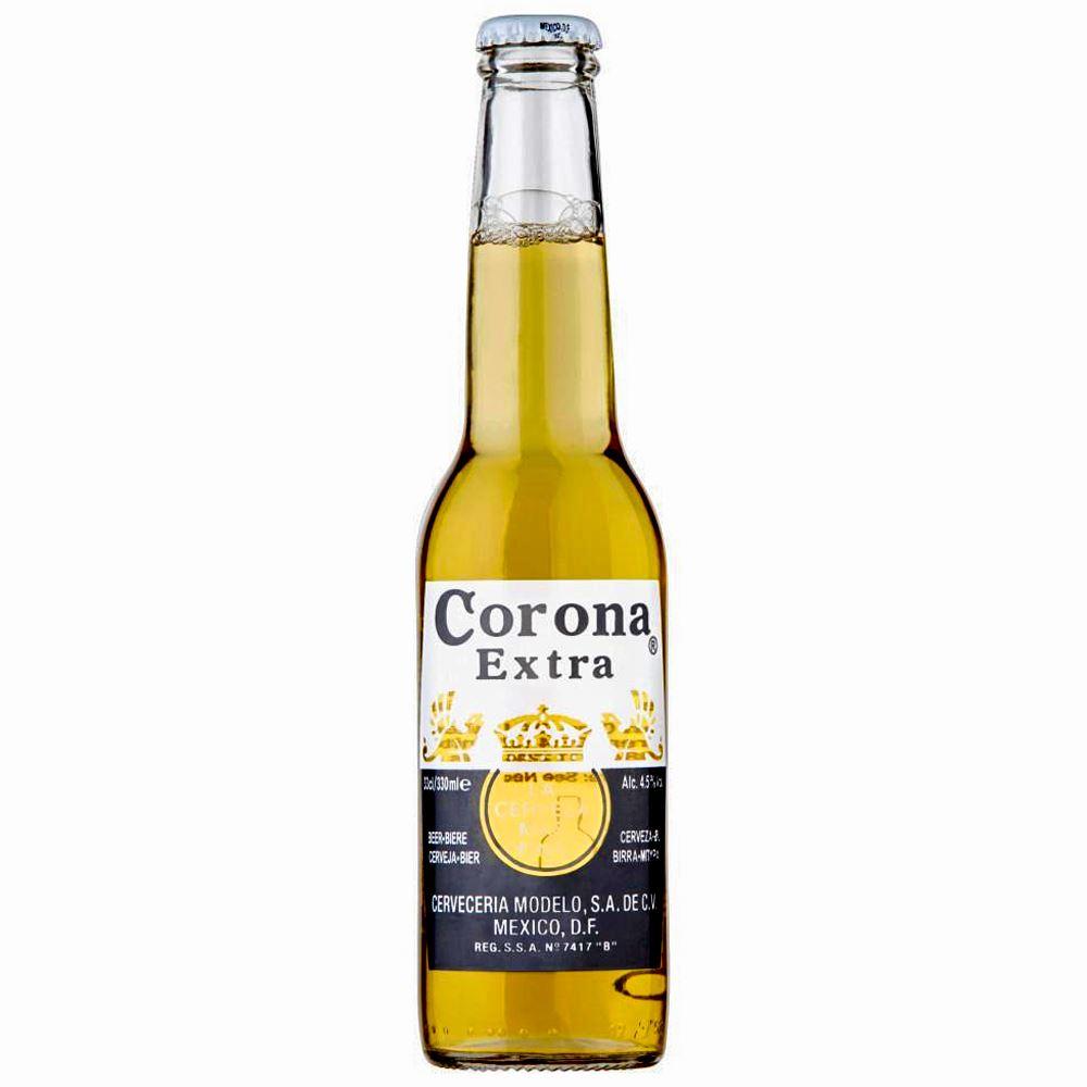CERVEJA CORONA EXTRA 35CL 4,5%