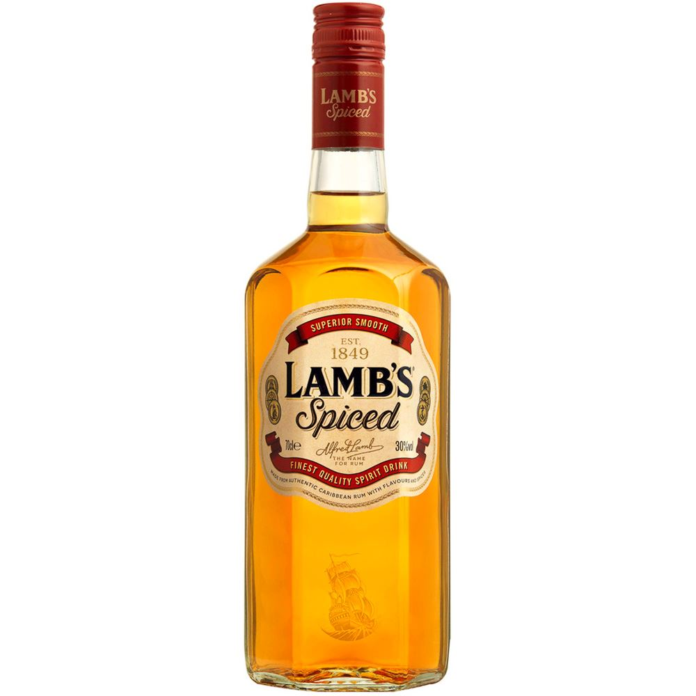 RUM LAMB´S SPICED 70CL