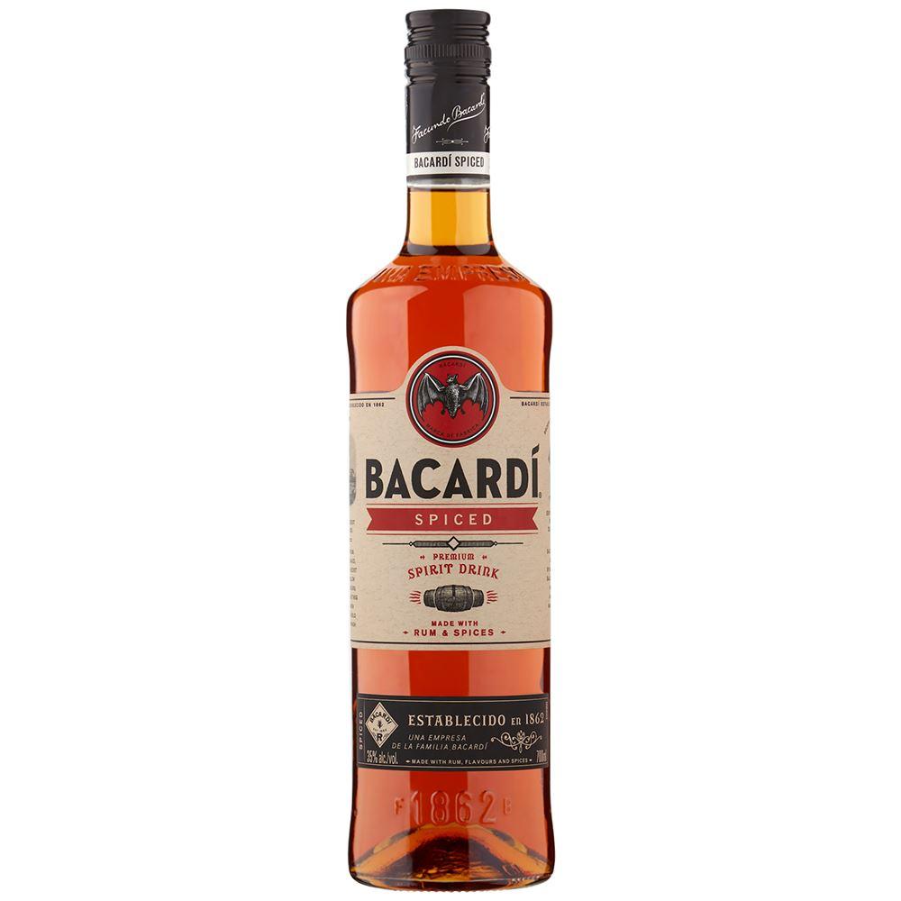 RUM BACARDI SPICED 35% 70CL
