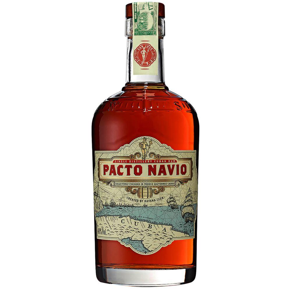 RUM PACTO NAVIO 70CL 40%