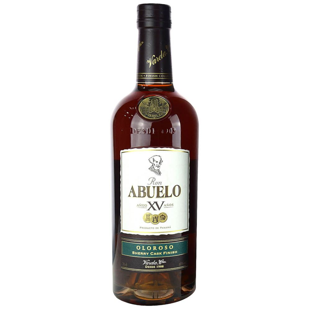 RUM ABUELO XV ANOS OLOROSO SHERRY CASK FINISH 70CL 40%