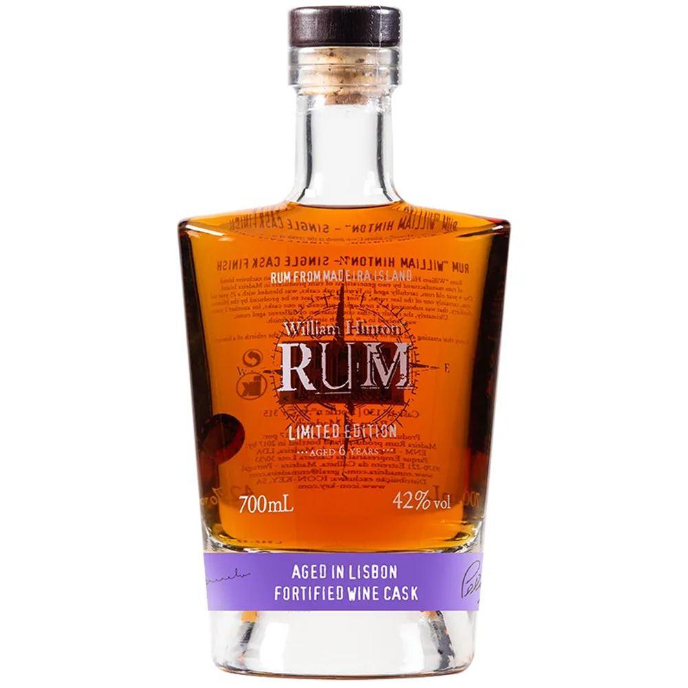 RUM WILLIAM HINTON RUM SINGLE CASK CARCAVELOS 70CL 42%