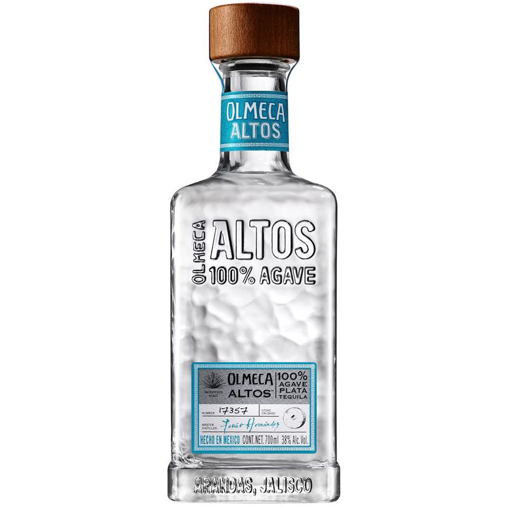 TEQUILA OLMECA LOS ALTOS BLANCO 70CL