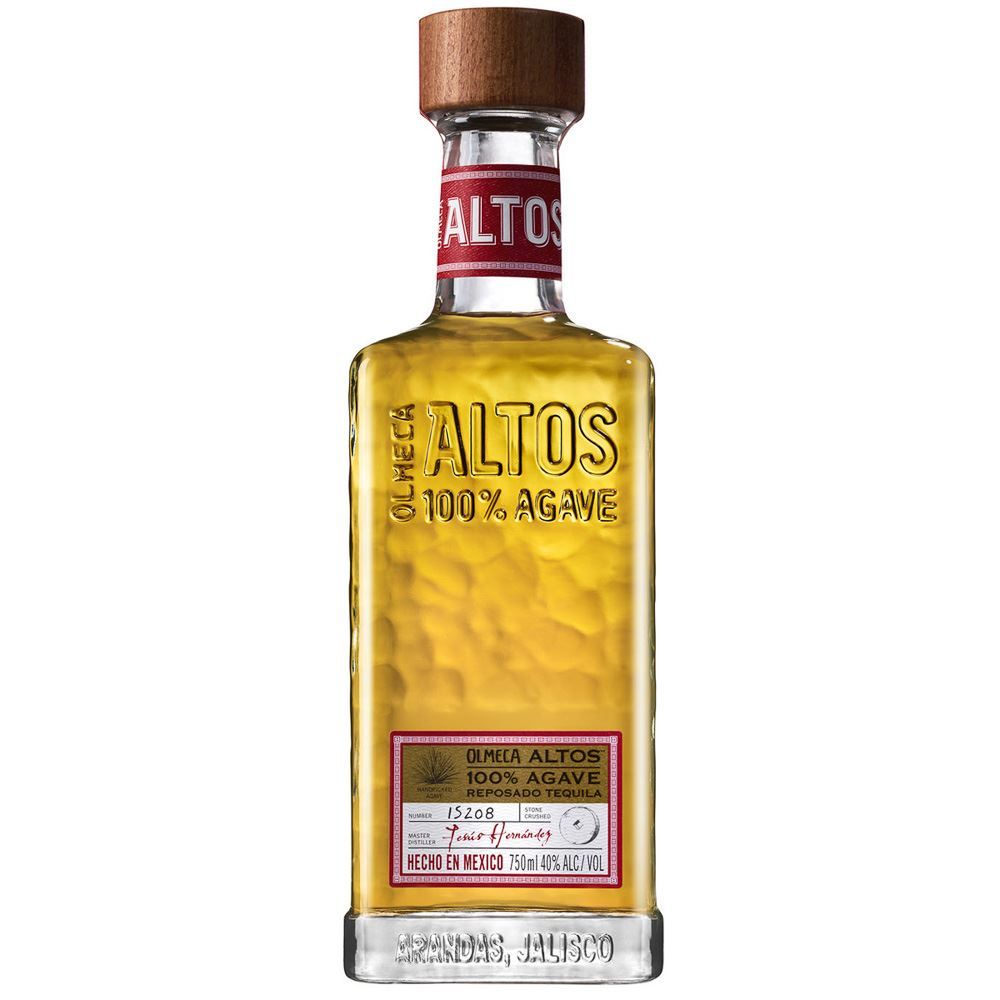 TEQUILA OLMECA LOS ALTOS REPOSADO 70CL