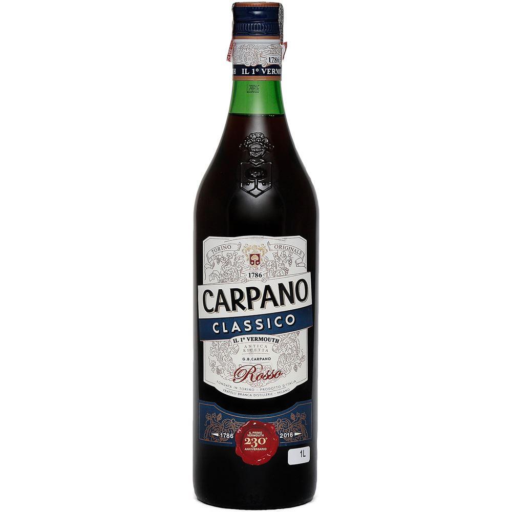 VERMUTE TINTO CARPANO CLASSIC 1L