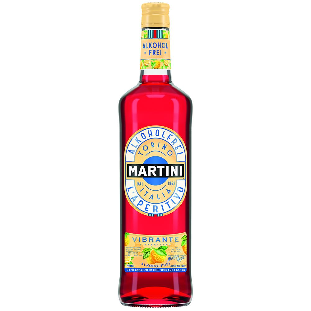 MARTINI VIBRANTE SIN ALCOHOL 75CL