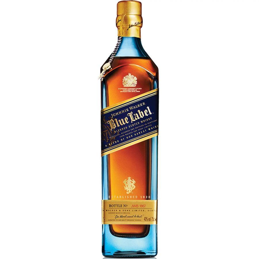 WHISKY BLENDED JOHNNIE WALKER BLUE LABEL ESCÓCIA 70CL