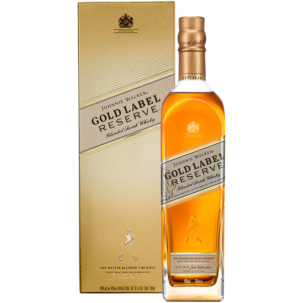 WHISKY BLENDED JOHNNIE WALKER GOLD RESERVE ESCÓCIA 70CL