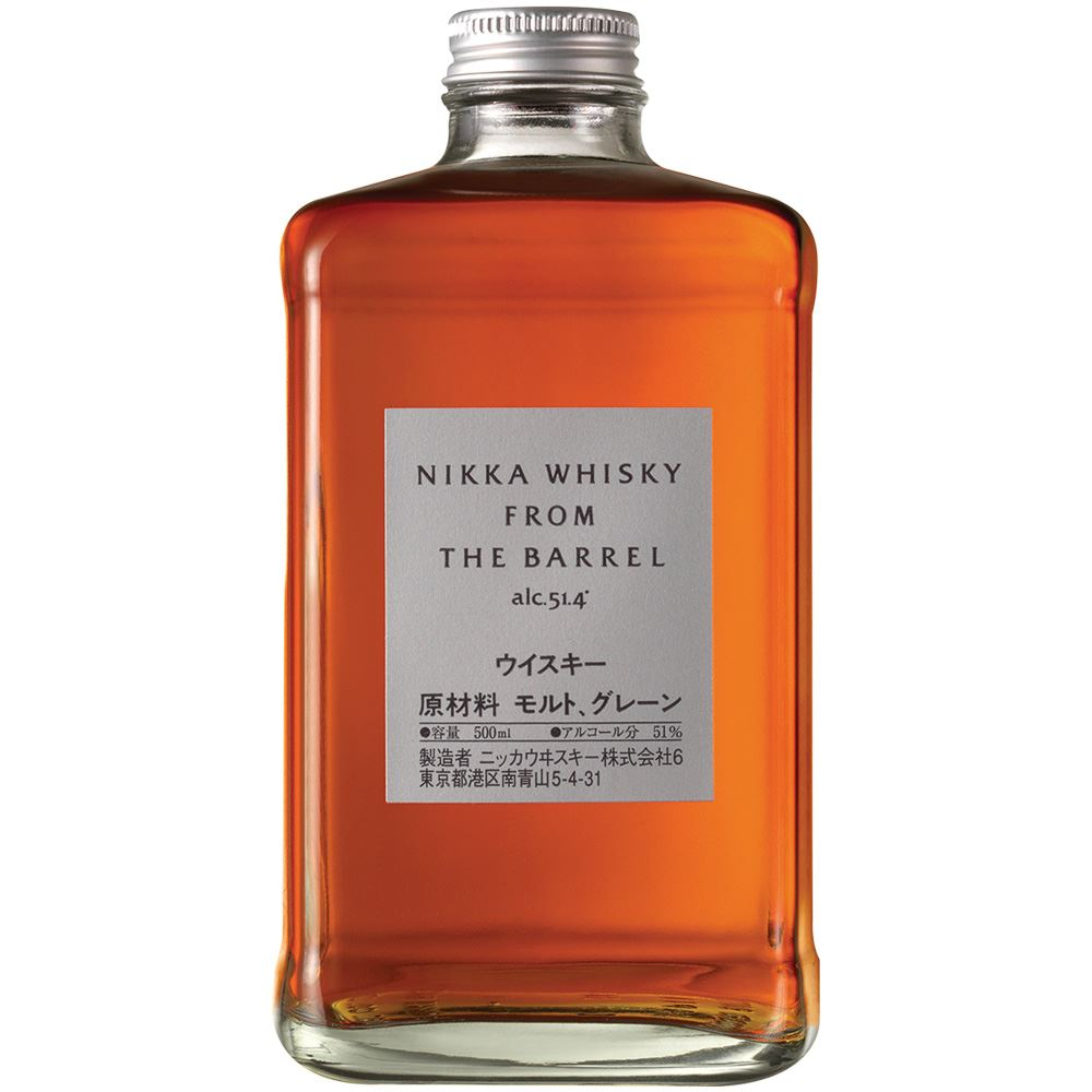 WHISKY BLENDED NIKKA FROM THE BARREL JAPÃO 50CL