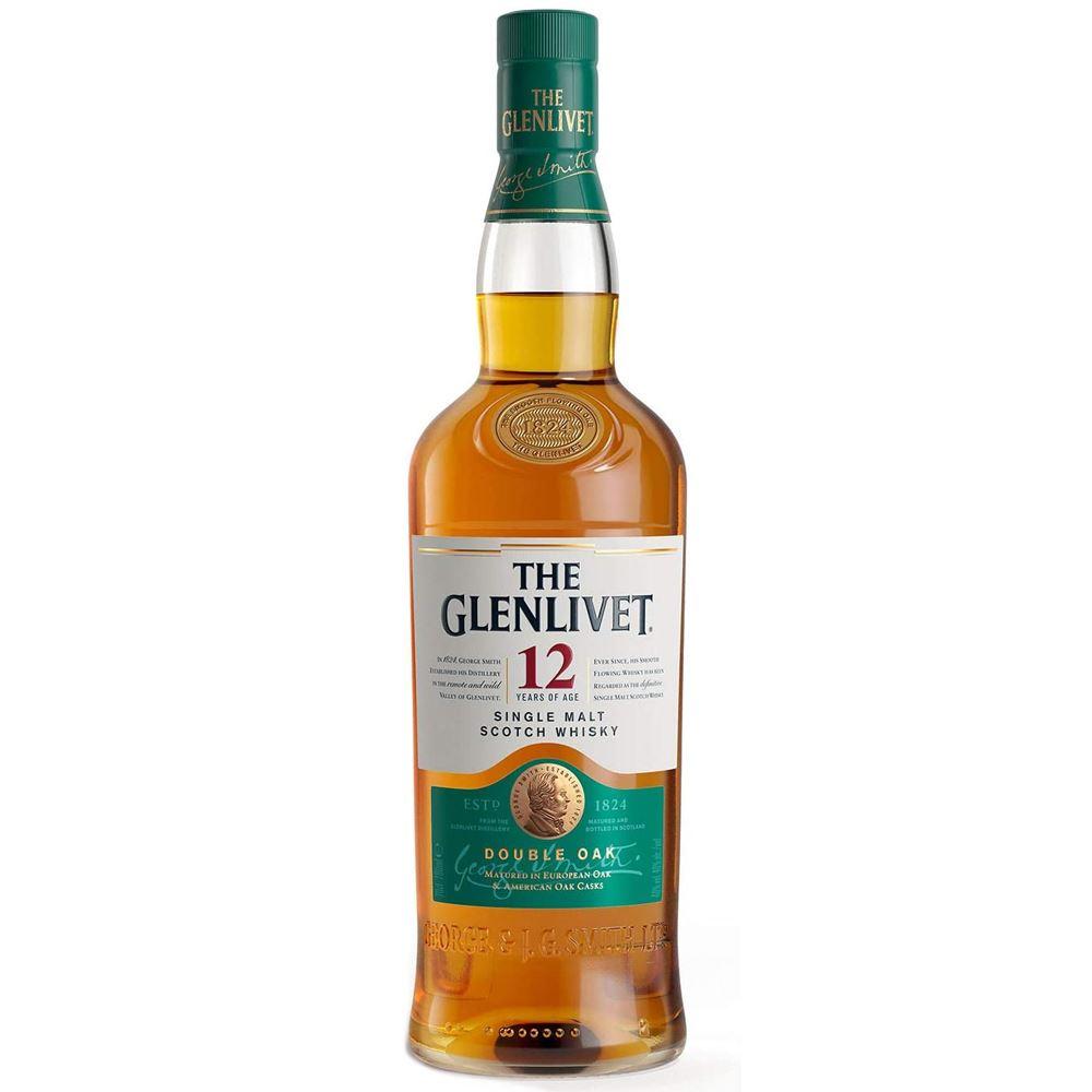 WHISKY GLENLIVET 12 ANOS 70CL