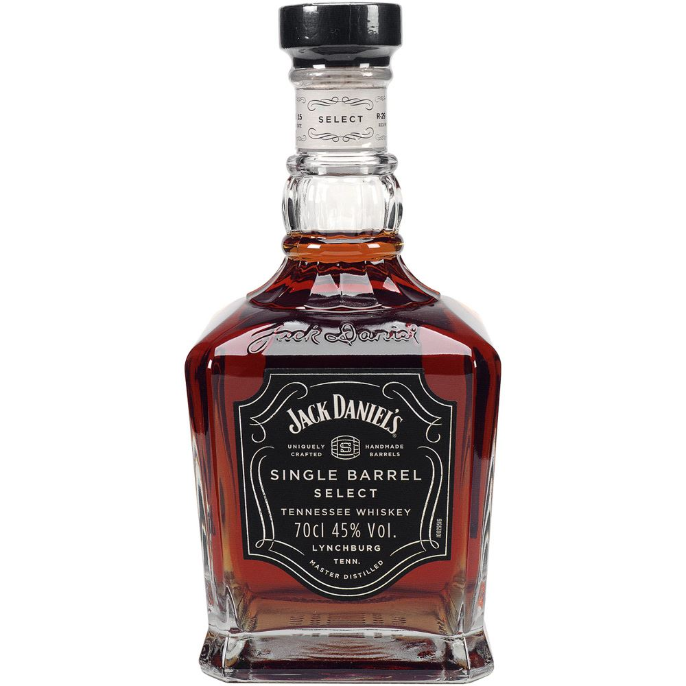 WHISKY BOURBON JACK DANIEL´S SINGLE BARREL EUA 70CL