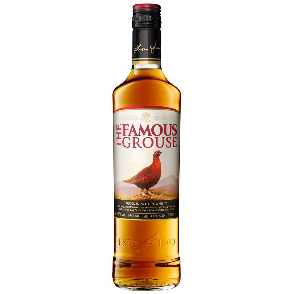 WHISKY BLENDED FAMOUS GROUSE ESCÓCIA 70CL