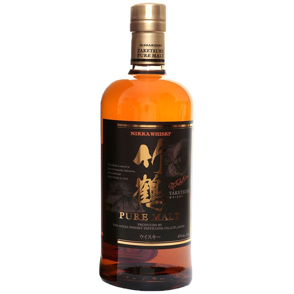WHISKY BLENDED NIKKA TAKETSURU PURE MALT JAPÃO 70CL