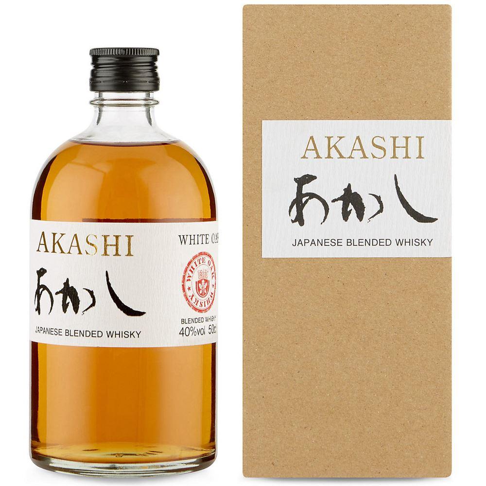 WHISKY BLENDED AKASHI JAPÃO 50CL