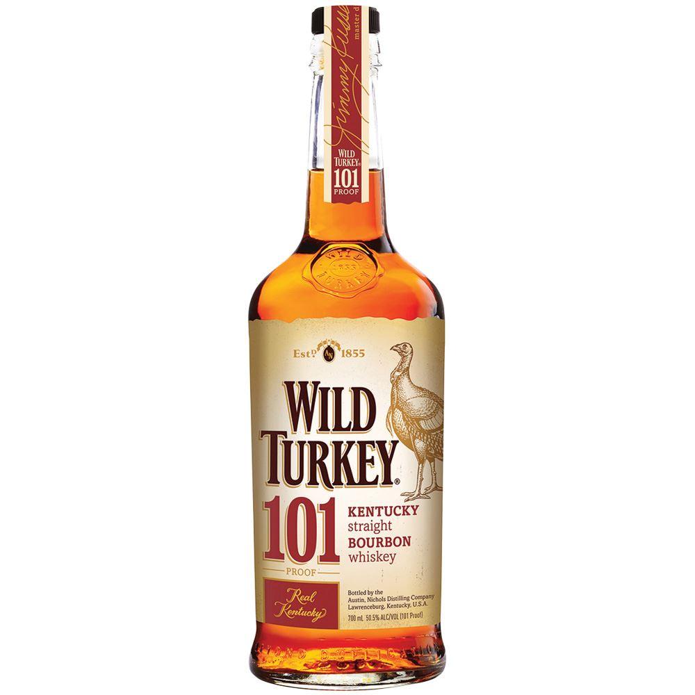 WHISKY BOURBON WILD TURKEY 101 EUA 70CL