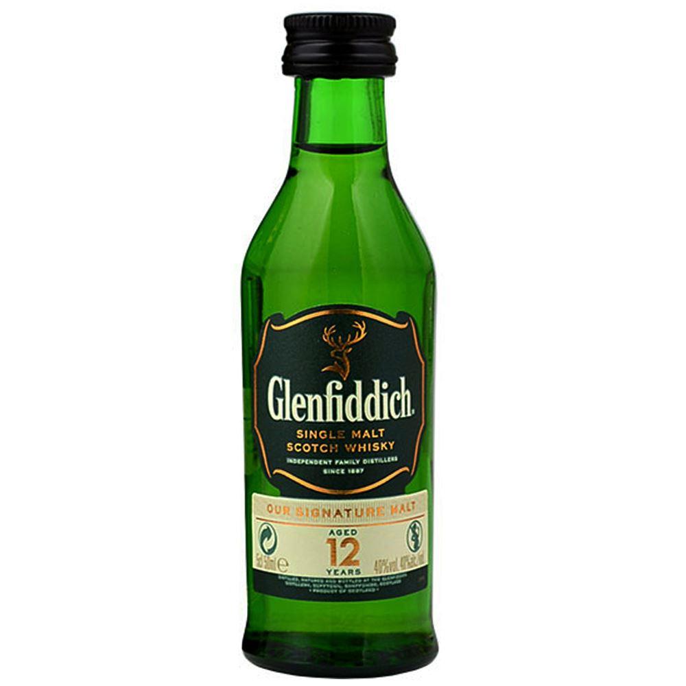 GLENFIDDICH 12Y 5CL VIDRO