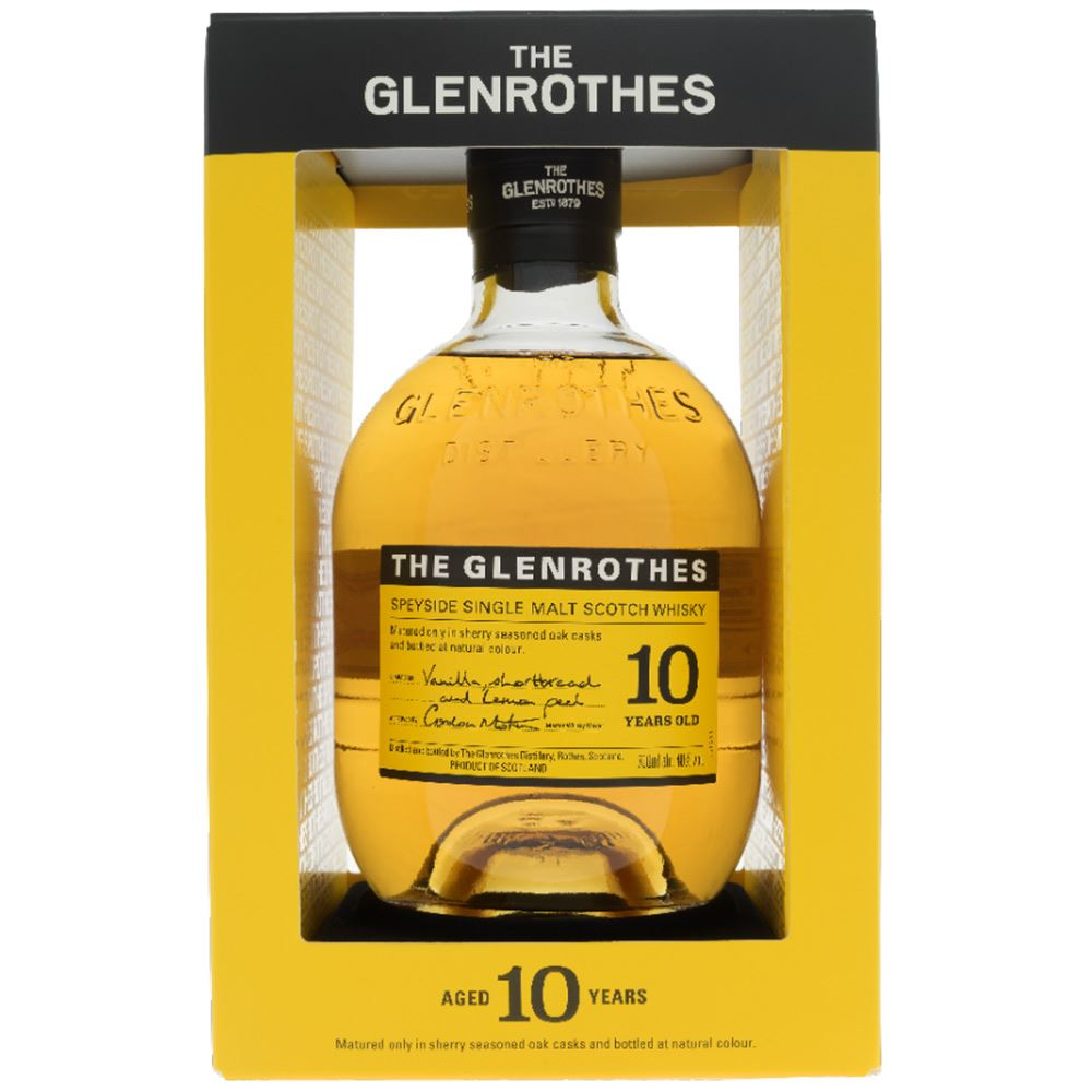 WHISKY GLENROTHES 10 ANOS 40% 70CL