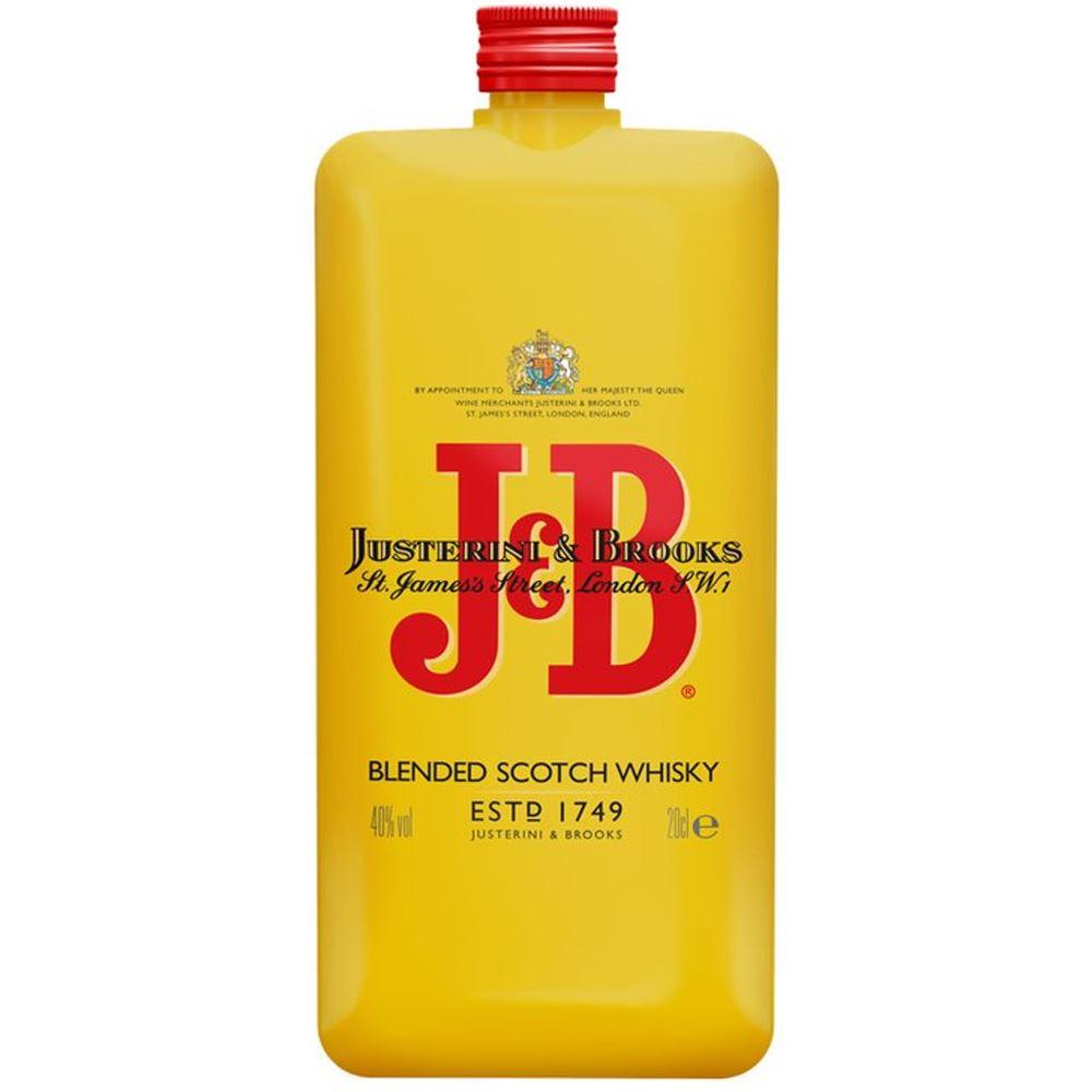 WHISKY J&B RARE POCKET 20CL 40%