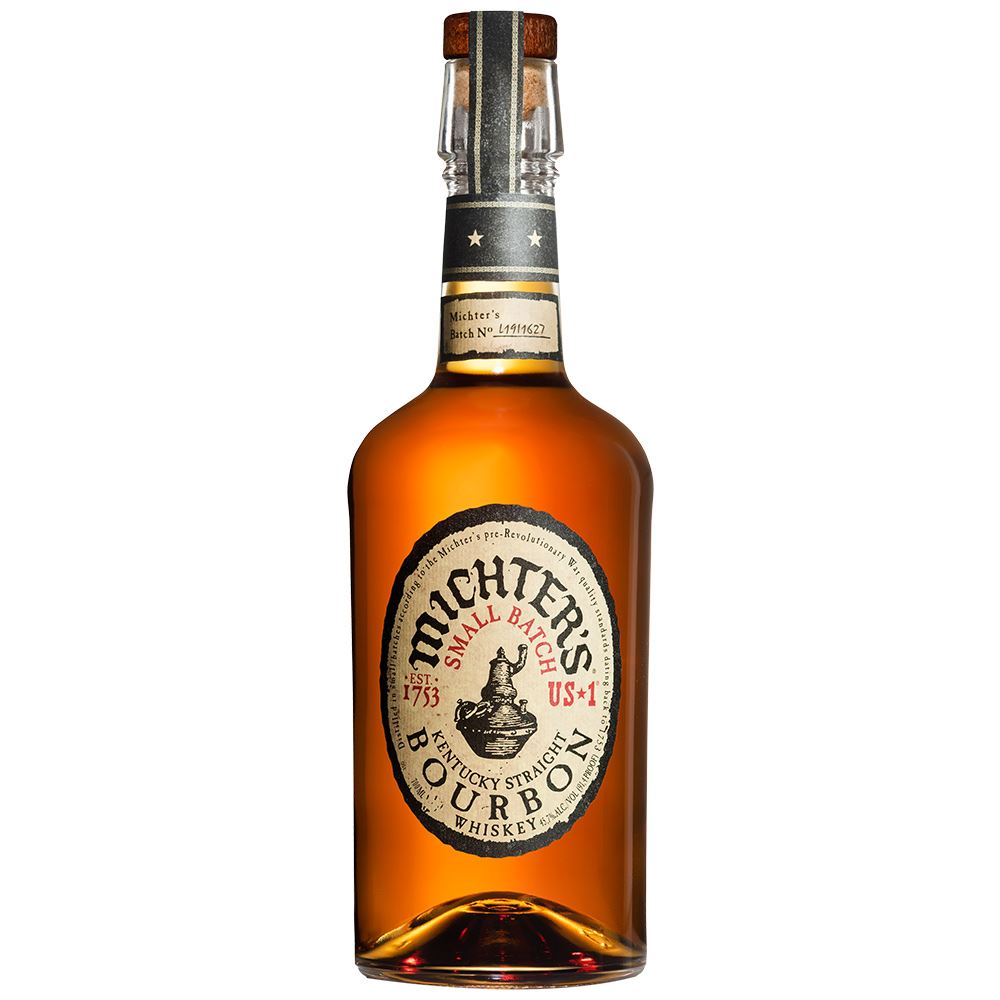 WHISKEY MICHTERS SMALL BATCH BOURBON 70CL 45,7%