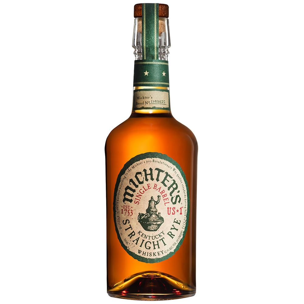 WHISKEY MICHTERS SINGLE BARREL RYE 70CL 42,4%