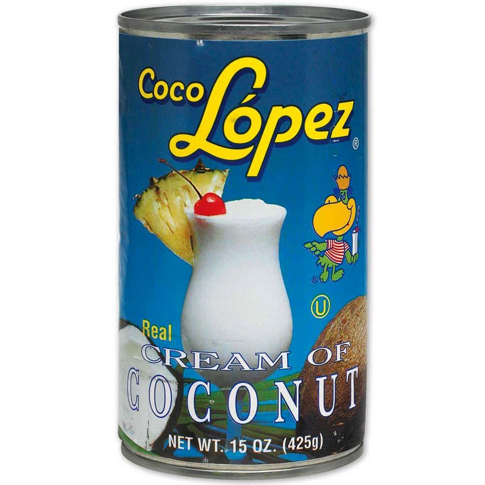 CREME DE CÔCO COCO LOPEZ 425G