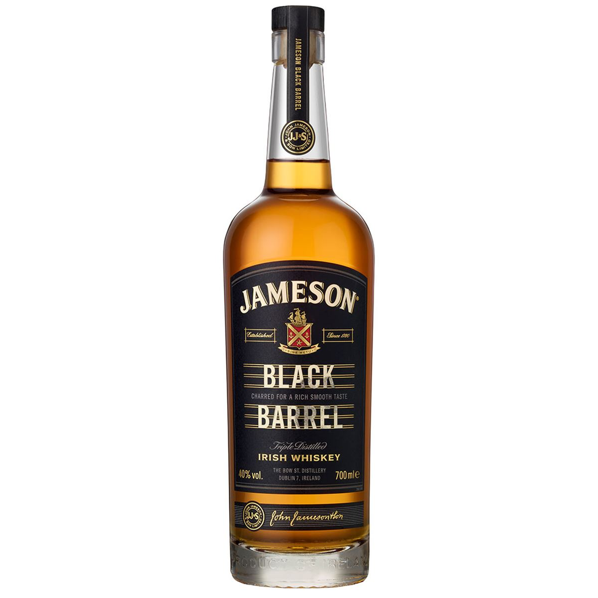 WHISKY BLENDED JAMESON BLACK BARREL IRLANDA 70CL