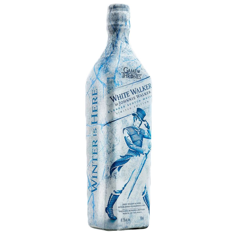 Whisky Blended Johnnie Walker White Walker Escócia 70cl