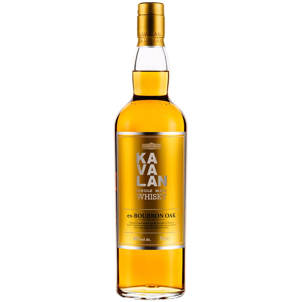 WHISKY KAVALAN EX-BOURBON OAK 70CL