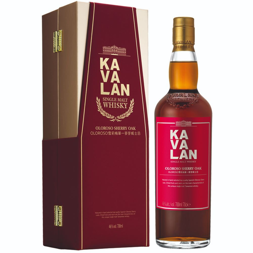 WHISKY KAVALAN OLOROSO SHERRY OAK 70CL