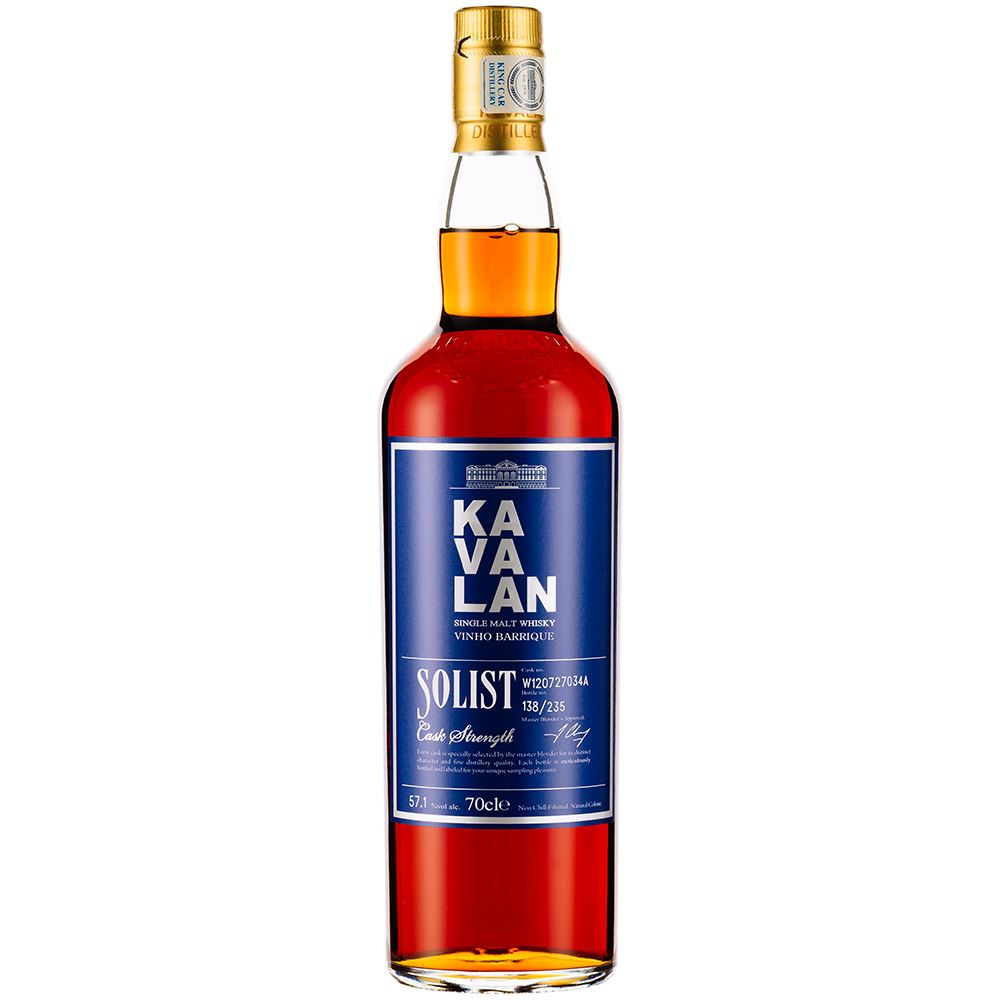 WHISKY KAVALAN SOLIST VINHO BARRIQUE 70CL