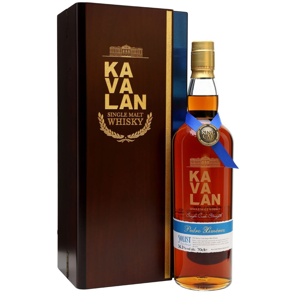 WHISKY KAVALAN SOLIST PEDRO XIMENEZ CASK DECANTER 95CL