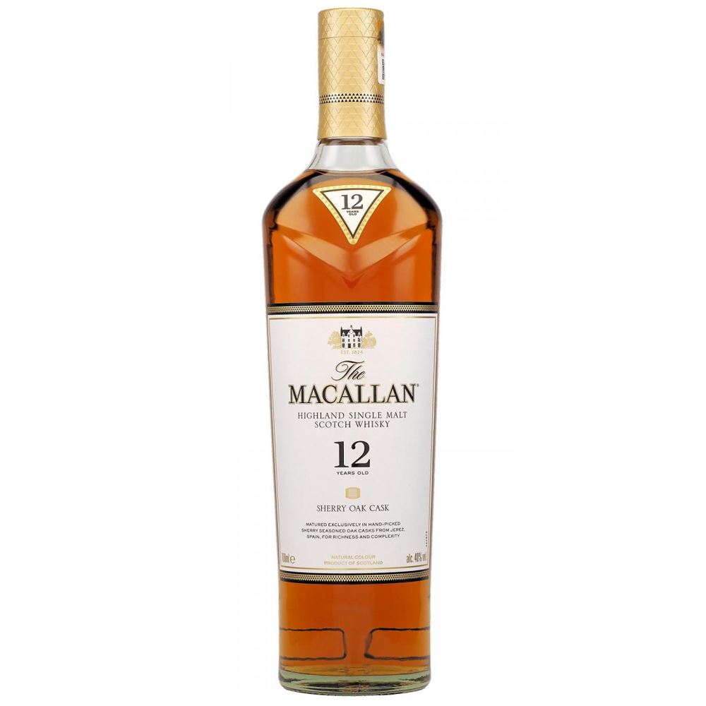 WHISKY MACALLAN 12Y SHERRY OAK 70CL