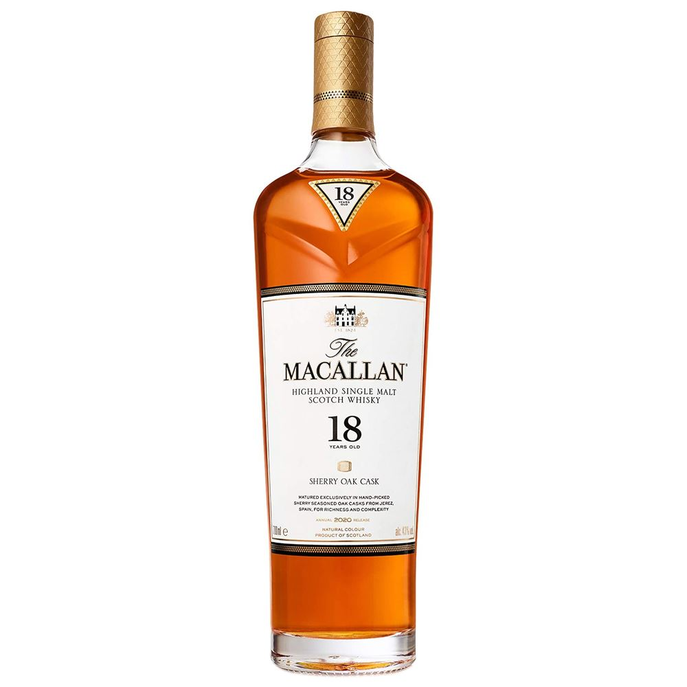 WHISKY MACALLAN 18Y SHERRY OAK 70CL