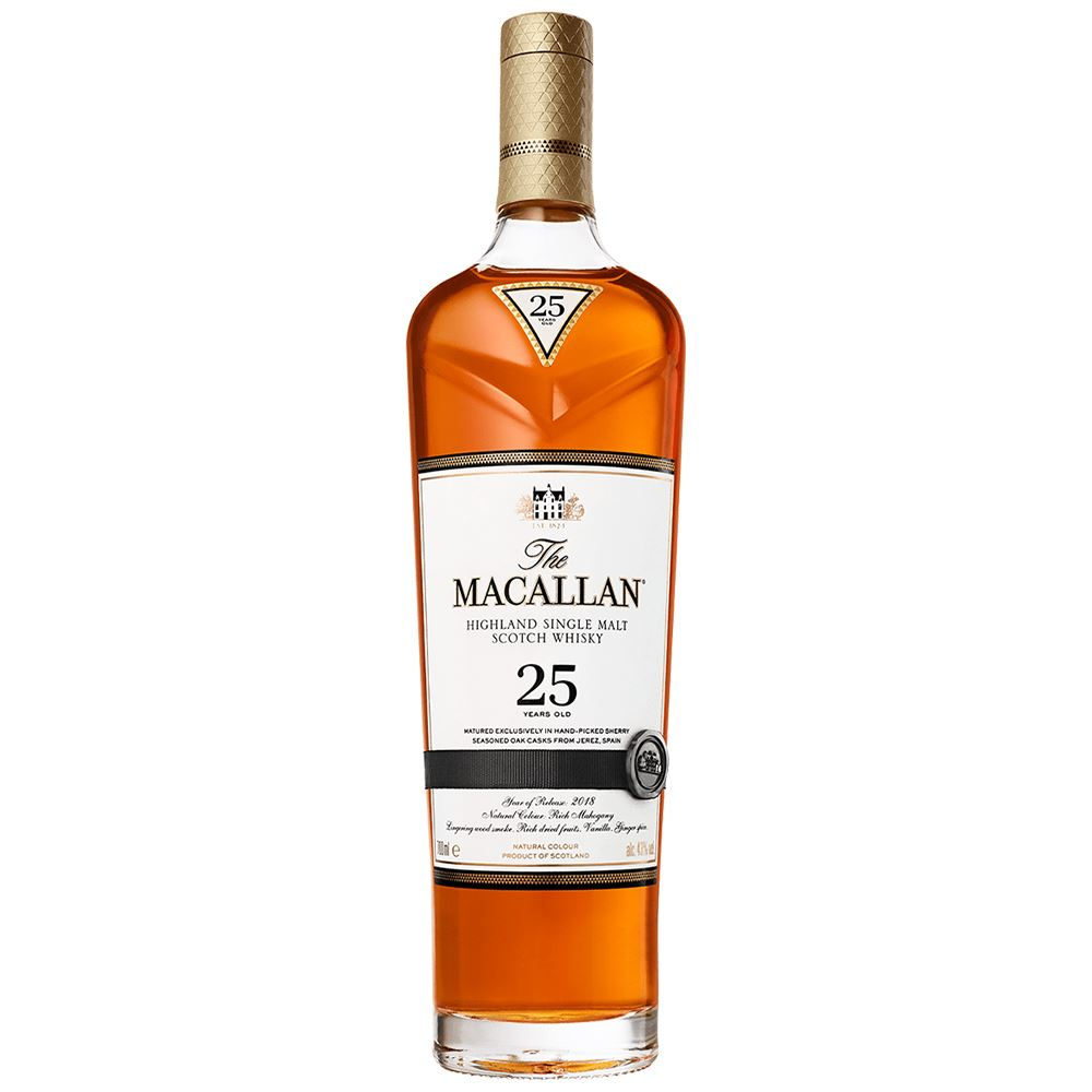 WHISKY MACALLAN 25Y SHERRY OAK 70CL