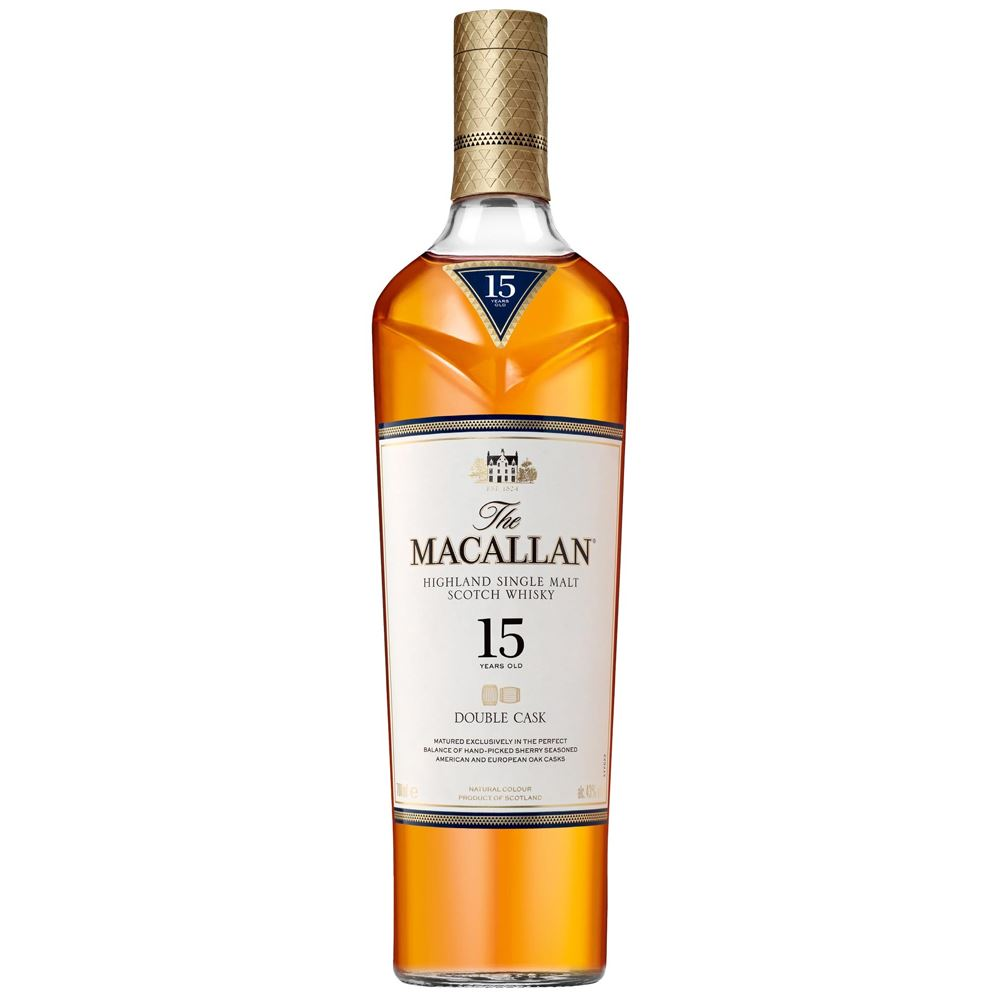 WHISKY MACALLAN 15Y DOUBLE CASK 70CL