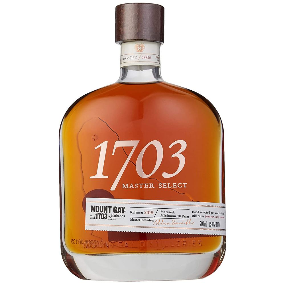 RUM MOUNT GAY 1703 MASTER SELECT 70CL 43%