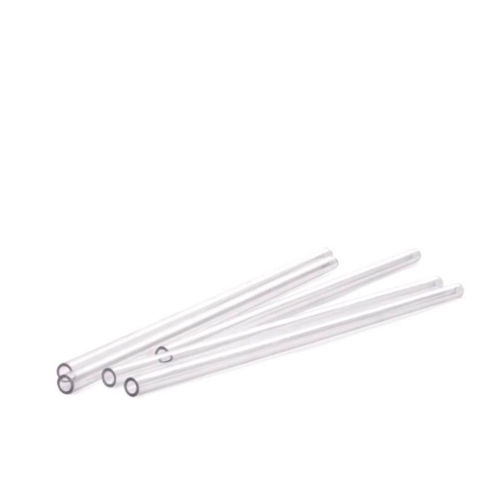 BUSWELL REUSABLE STRAW POLY 20 CM CLEAR