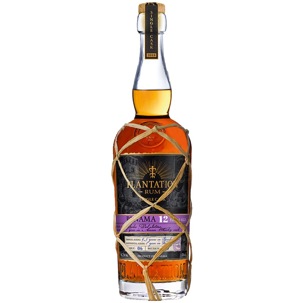 RUM PLANTATION PANAMA 12Y SINGLE CASK 70CL 46,2%