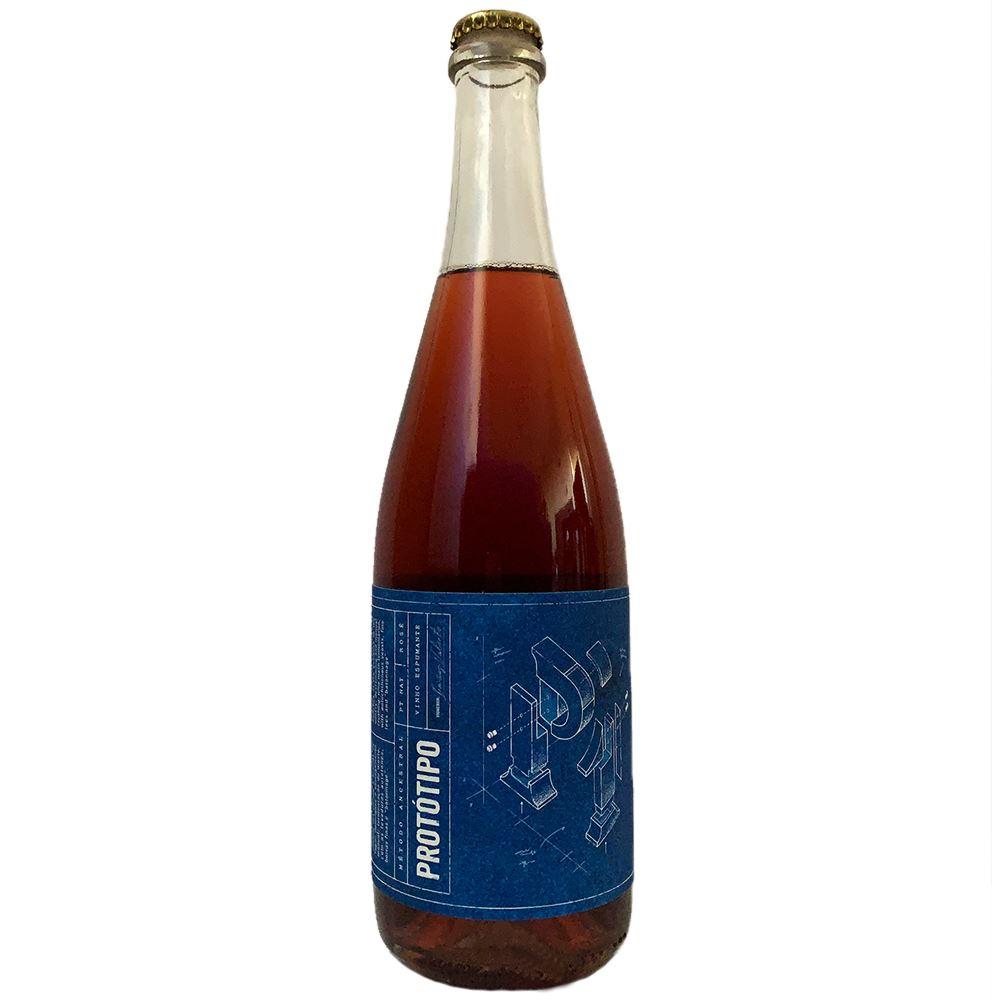 VINHO ESPUMANTE ROSÉ PROTÓTIPO ANCESTRAL 75CL 13,3%