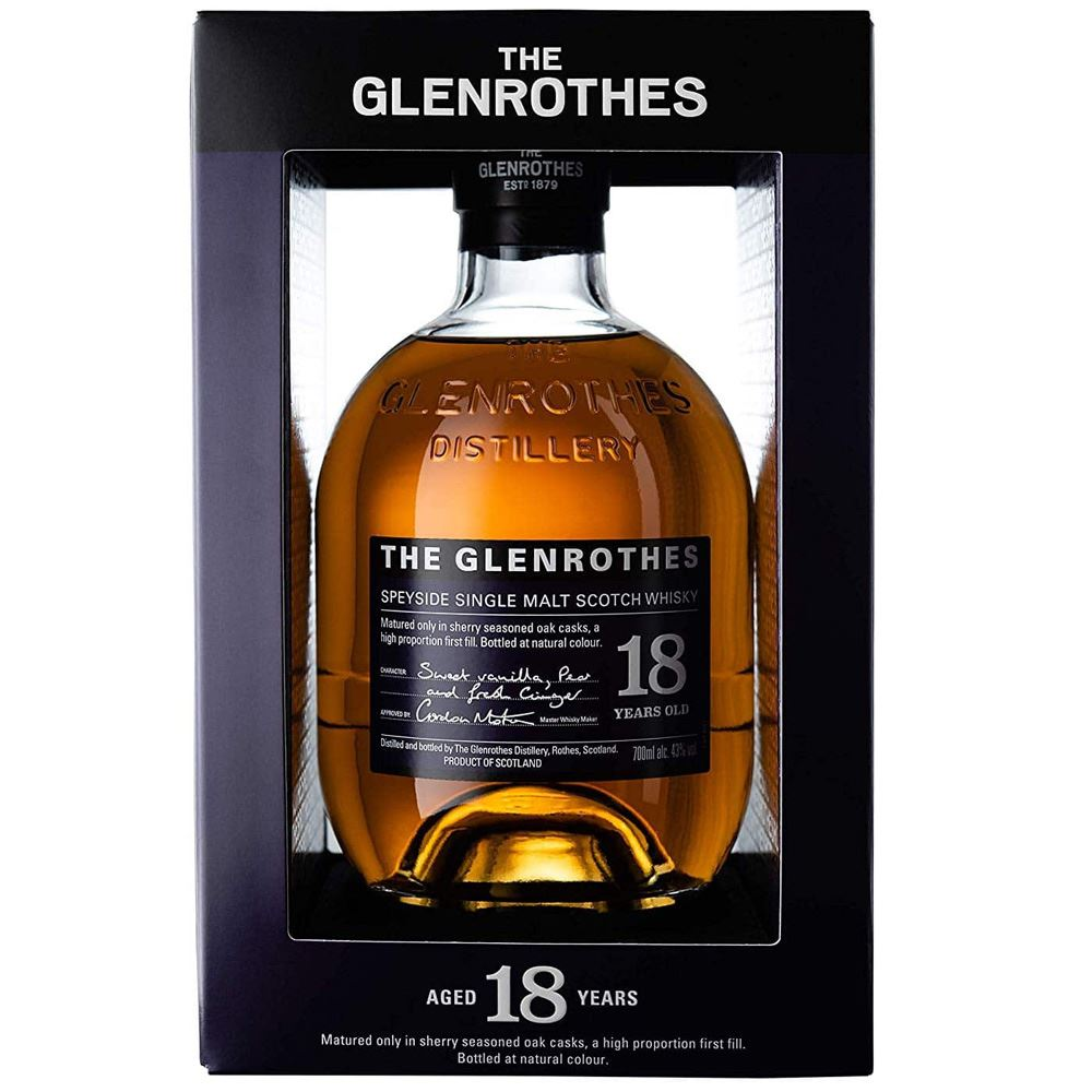 WHISKY GLENROTHES 18 ANOS 43% 70CL