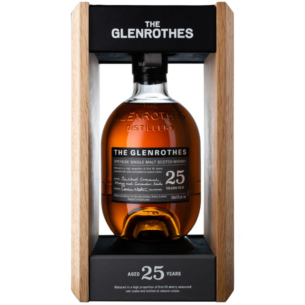 WHISKY GLENROTHES 25 ANOS 43% 70CL