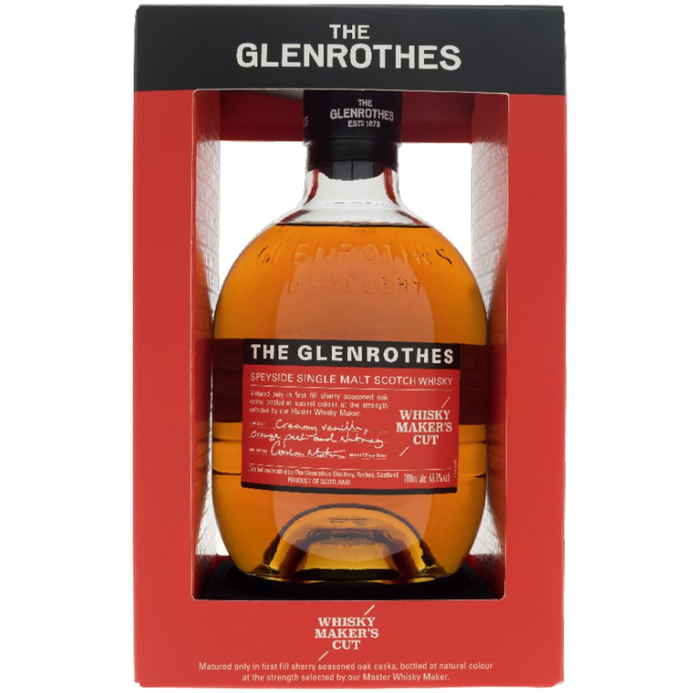 WHISKY GLENROTHES MAKERS CUT 48,8% 70CL