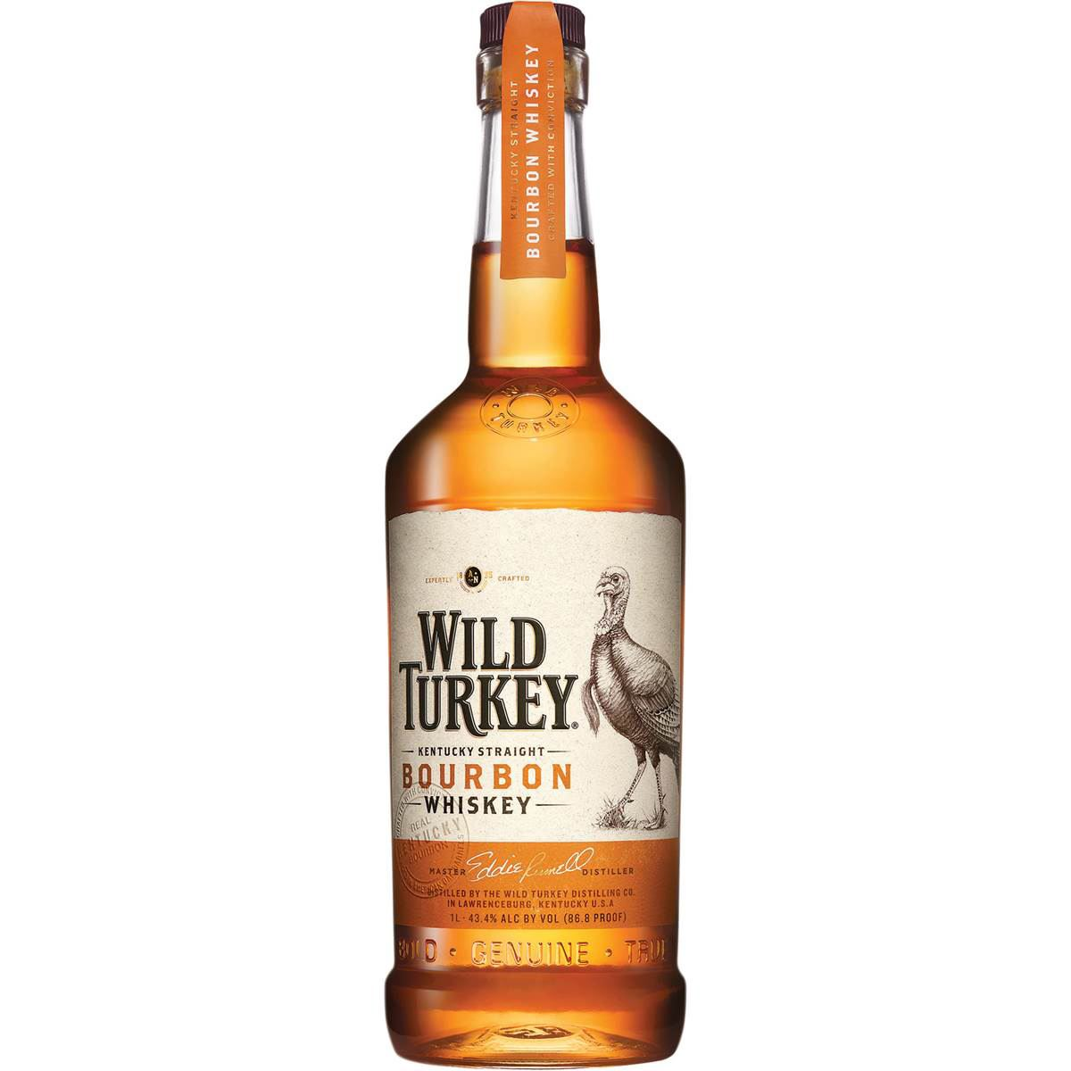 Whisky Bourbon Wild Turkey EUA 70cl